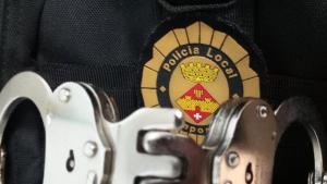 La Policia Local d'Amposta, en una imatge d'arxiu