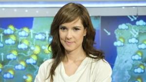 La presentadora del temps de TVE Mónica López, en una imatge d'arxiu