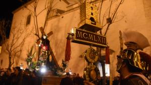 La processó del Divendres Sant, del proper 19 d'abril, partirà a dos quarts de nou del vespre de l'església de Sant Pere Apòstol de Torredembarra.