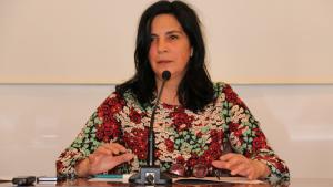 La regidora socialista Ana Santos ha mort aquest dimecres al matí a l'edat de 52 anys.