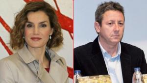 La reina Letizia y Alonso Guerrero
