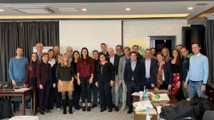 La reunió de la 6ª cimera plenària del projecte europeu Graspinno