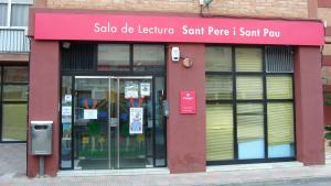La Sala de Lectura de Sant Pere i Sant Pau està tancada des del passat 9 de desembre.
