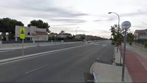 La T-325, al seu pas per Vilafortuny, és la travessera urbana més segura d'entre les que el RACC ha analitzat enguany.