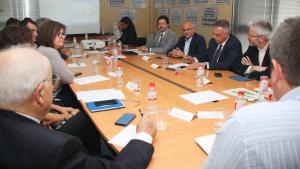 La taula estratègica de l'Aeroport de Reus s'ha tornat a reunir aquest dijous, 25 d'abril
