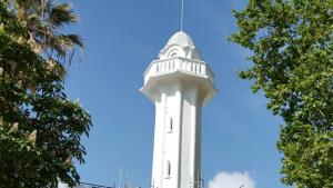 La torre torna a lluir el color original, el blanc