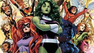 Las superheroínas con más poder en Marvel.