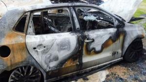 L'home va cremar un total de cinc vehicles