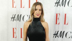 María Pombo en el evento 'Elle Christmas Party'