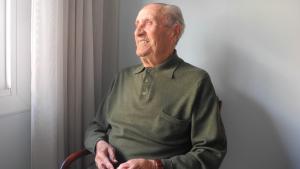 Màxim Calvo estava a punt de complir 99 anys.