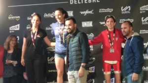 Montse Estany, tercera en categoria sub'23 en el TriTour  Deltebre