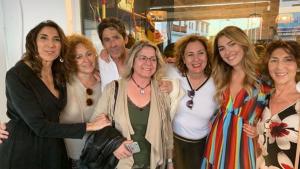 Paz Padilla y Anna Ferrer han sido apoyadas por la familia