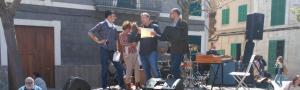 Pere Calafat agraeix el guardó i dedica unes paraules a APAEMA