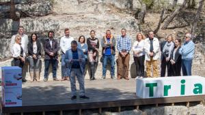 Pere Virgili va presentar aquest dissabte, 13 d'abril, la candidatura amb què serà alcaldable de nou a Roda de Berà.