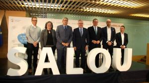 Pla general dels participants en la trobada de l'AMT a Salou