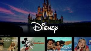 Posible diseño de la aplicación Disney+.