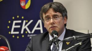 Puigdemont ha entrat a l'Eurocambra