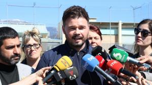 Rufián reclama guanyar el 28-A per condicionar el PSOE