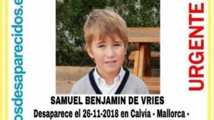 Cartel de búsqueda de Samuel Benjamin