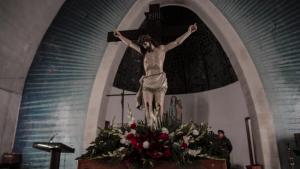 Setmana Santa Tarragona 2019: Viacrucis Sant Ecce-Homo a l'interior del Loreto