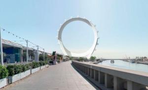 Simulació de la nòria Circular View a València