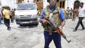 Sis bombes han explotat en diverses esglèsis i hotels a Sri Lanka