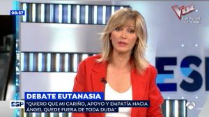 Susanna Griso ha pedido disculpas por su pregunta