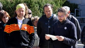 Tots dos membres del CDR de Cerdanya van ser citats a declarar per haver mostrat una «resistència més activa»