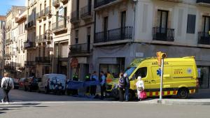 Un home d'edat avançada ha mort aquest matí al carrer Unió de Tarragona.