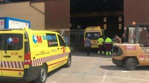 Una ambulancia del SUMMA le ha trasladado al Hospital de La Paz