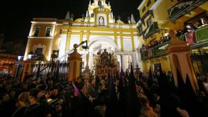 Una imagen de la Madrugá de anoche en Sevilla.