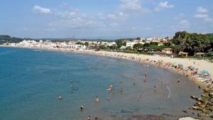 Una imatge d'arxiu de la platja d'Altafulla, on avui s'ha tret a concurs una guingueta.