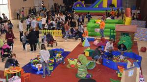 Una imatge d'una de les anteriors edicions del Parc de Jocs de Setmana Santa al Casal Municipal de Torredembarra.