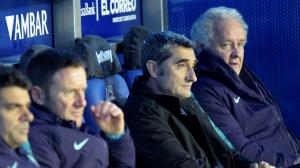 Valverde, a la banqueta de Mendizorrotza