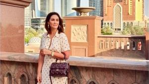 Vicky Martín Berrocal ha disfrutado de unas vacaciones en Dubái