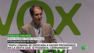 VOX amenaza con cerrar La Sexta