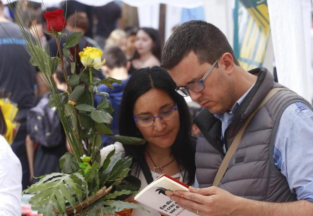 Sant Jordi a Terrassa vist amb els ulls de Cristóbal Castro