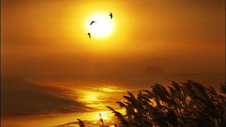 El sol crema tant a l'abril com a finals d'agost