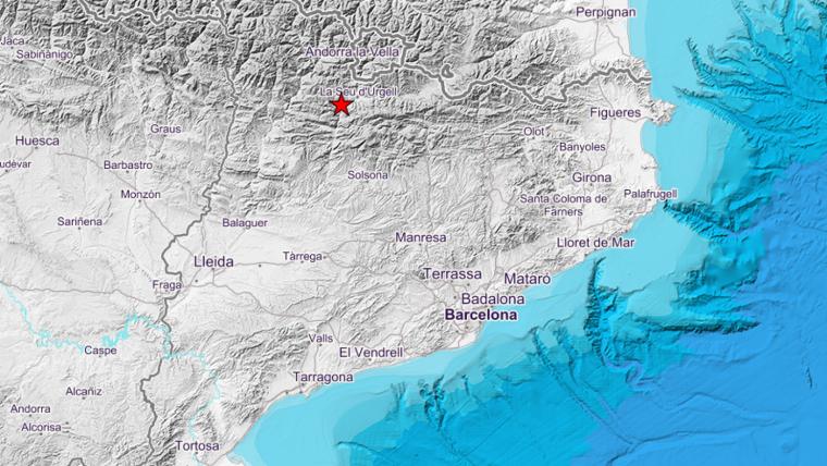 El terratrèmol ha tingut l'epicentre a l'Alt Urgell