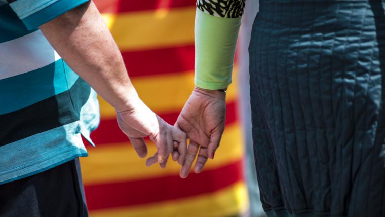 La Rambla Nova de Tarragona acull unes 160 paradetes de Sant Jordi aquest any