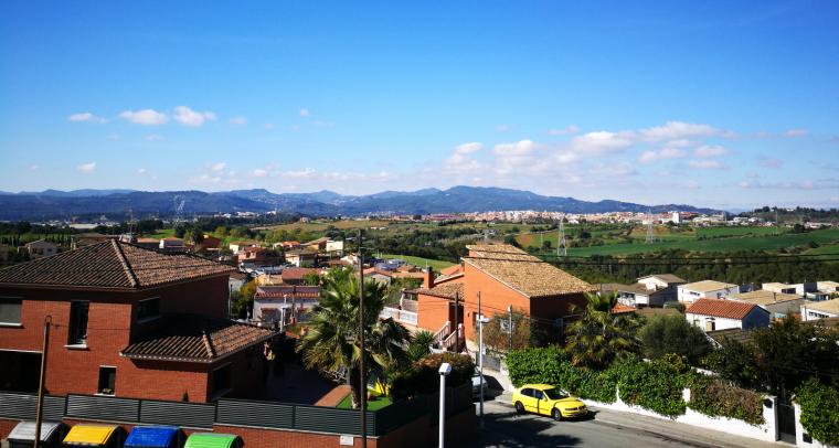 La urbanització de Can Serrafossà, a Rubí
