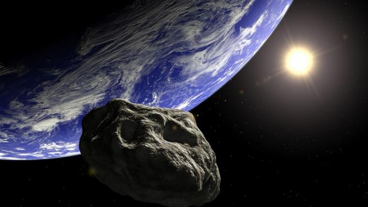 L'asteroide 2010 WC9 passarà aquesta nit a prop de la Terra