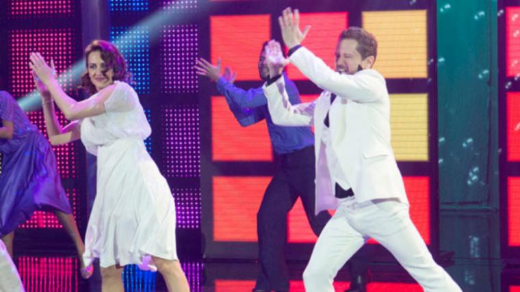 Lola va participar amb el sue marit al programa 'A Bailar'