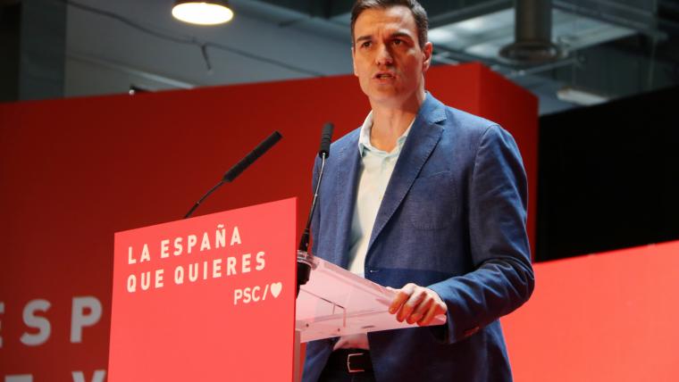 Pedro Sánchez acudirà a dos debats electorals, el 22 i el 23 d'abril