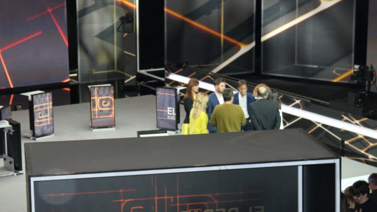 Els candidats de les eleccions espanyoles, al plató de TV3 abans del debat