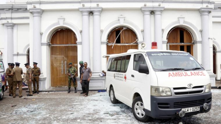 Quatre de les vuit explosions han tingut lloc en hotels de la capital del país, Colombo