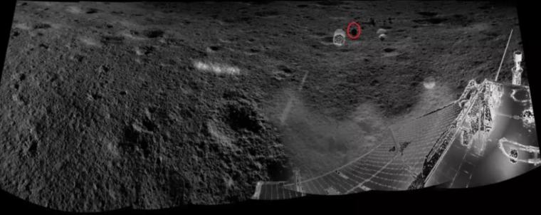 Situación de la misión china en el cráter Von Karman de la cara oculta lunar