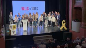 Acte central de campanya de Junts per Valls.