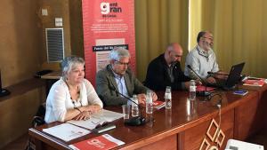 Acte previ al Congrés de la Gent Gran, celebrat al Consell Comarcal de la Conca de Barberà.