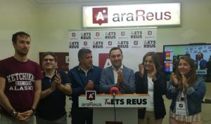 Ara Reus manté els dos regidor a l'ajuntament